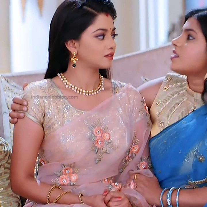 Tanvi Dogra Hindi serial actress JijiMS1 12 saree pic