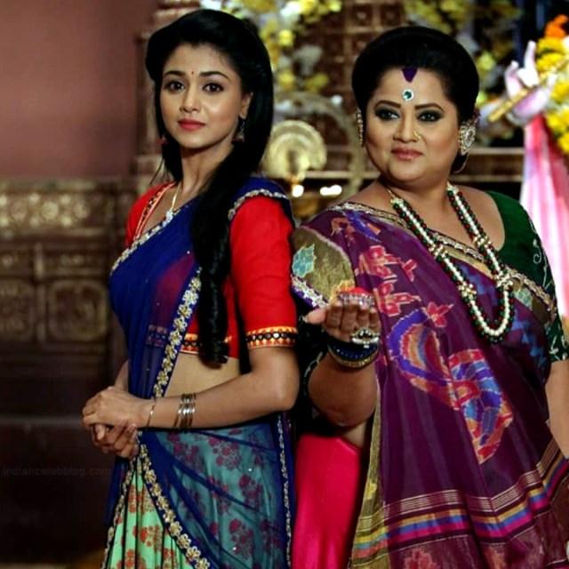 Tanvi Dogra Hindi serial actress JijiMS1 19 saree photo