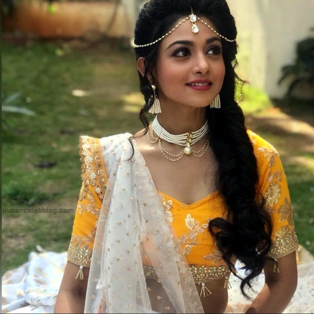 Tanvi Dogra Hindi serial actress JijiMS1 21 lehenga choli photo