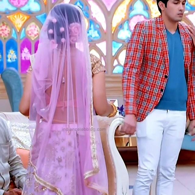 Tanvi Dogra Hindi serial actress JijiMS1 3 saree photo