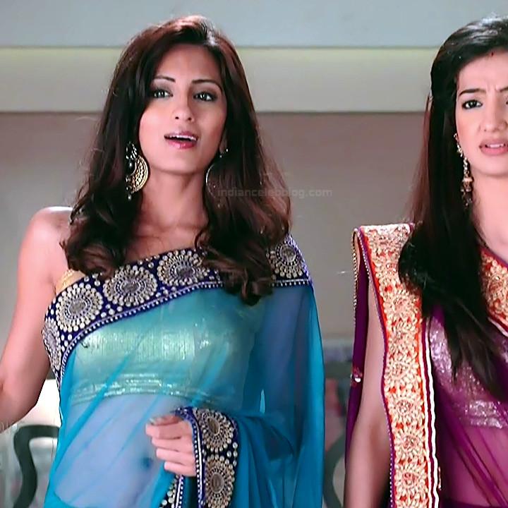 Uppekha Jain hindi tv actress Saath NSS1 13 hot saree caps