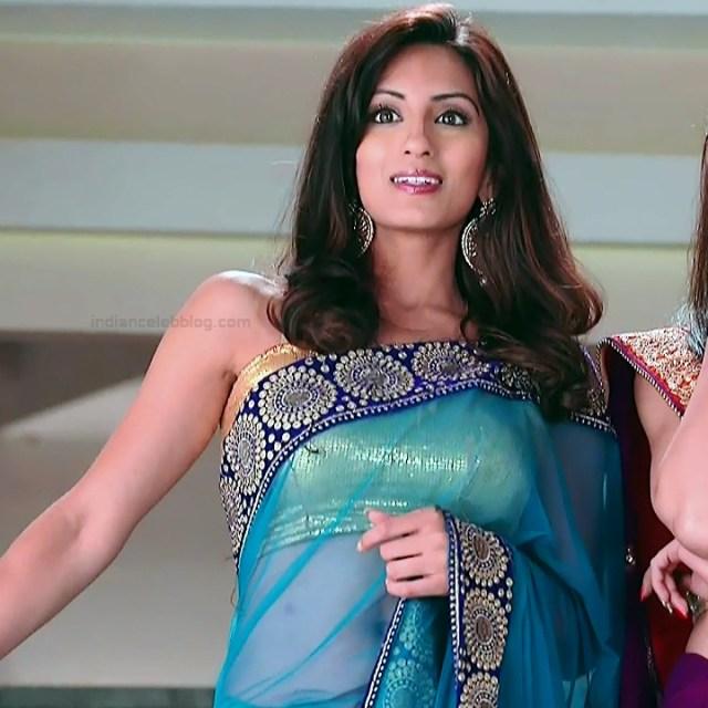 Uppekha Jain hindi tv actress Saath NSS1 15 hot transparent saree navel photo