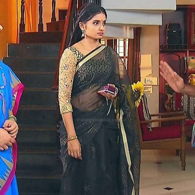Varshini tamil tv actress sumangali S1 15 hot saree caps