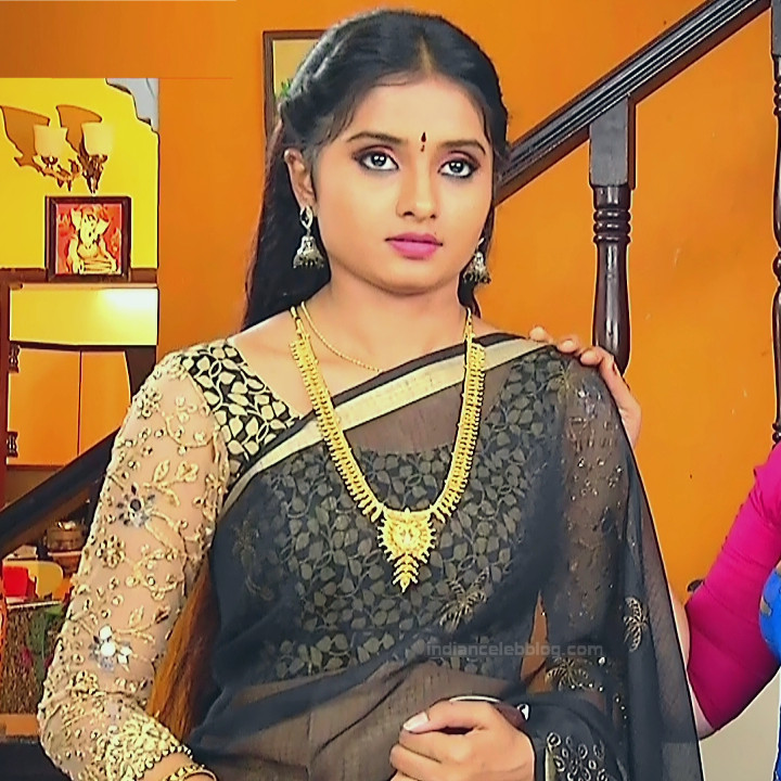Varshini tamil tv actress sumangali S1 16 hot saree caps