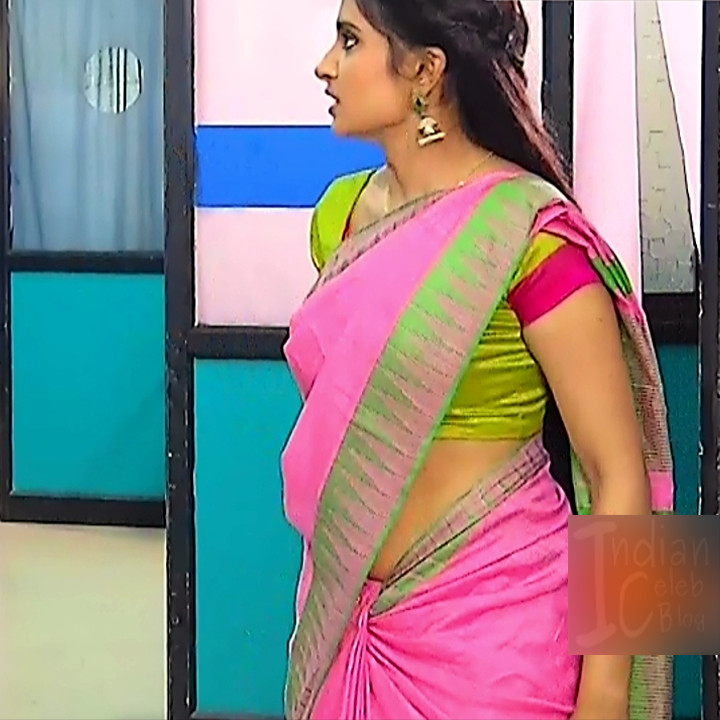 Varshini tamil tv actress sumangali S1 5 hot sari caps