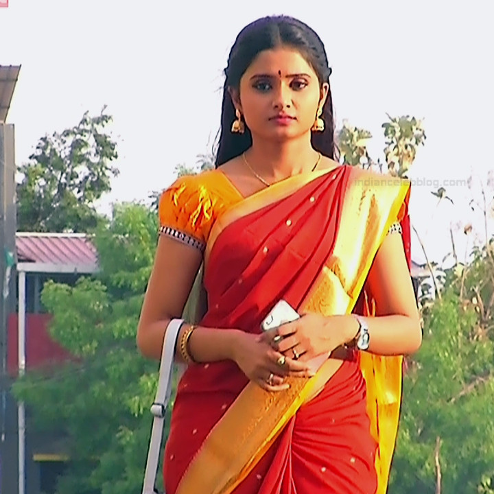 Varshini tamil tv actress sumangali S1 8 hot saree photo