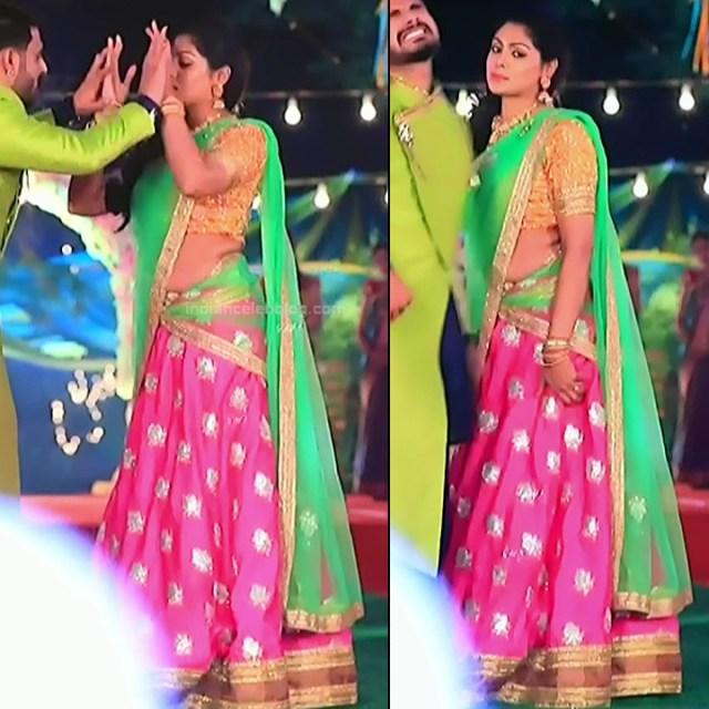 Anu Chinnappa kannada tv actess Muddu LS1 12 sari pics