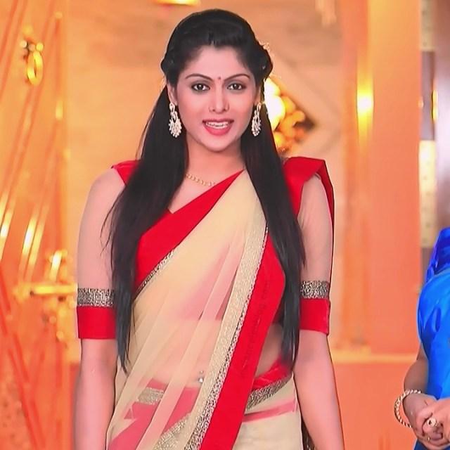 Anu Poovamma kannada tv actess Muddu LS1 4 saree navel photo