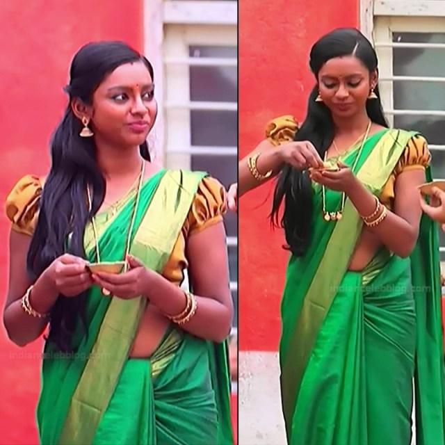 Ashwini Kannada TV actress Muddu LS1 13 saree pics