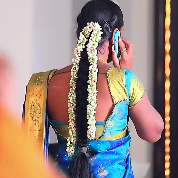 Ashwini Kannada TV actress Muddu LS1 14 saree photo