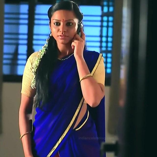 Ashwini Kannada TV actress Muddu LS1 15 saree caps