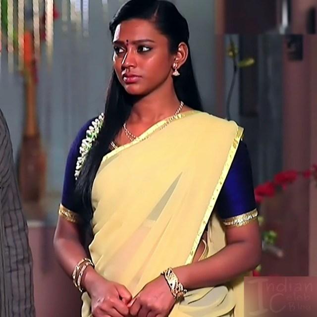 Ashwini Kannada TV actress Muddu LS1 16 saree photo