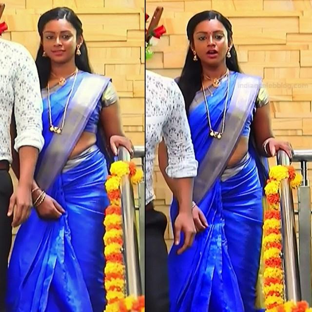 Ashwini Kannada TV actress Muddu LS1 4 saree pics