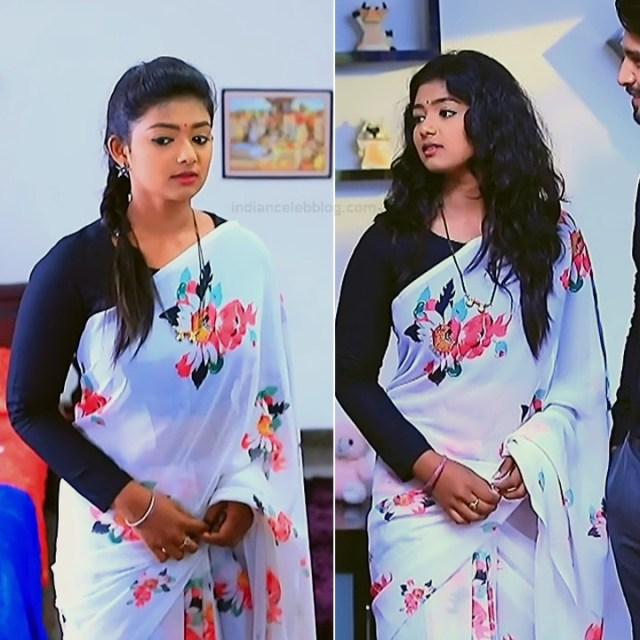 Bhoomi Shetty tv actress Kinnari S3 10 hot saree pics