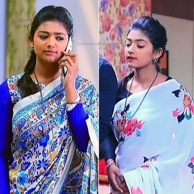 Bhoomi Shetty tv actress Kinnari S3 19 hot saree pics