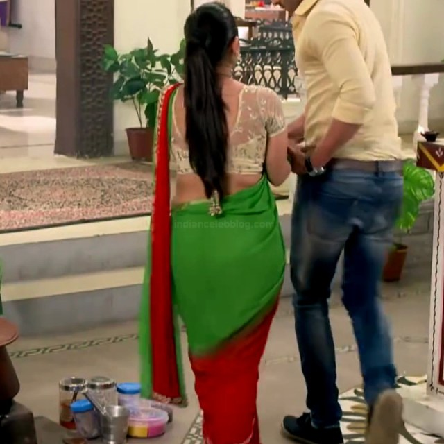 Chandni bhagwanani Hindi tv actress Tumhi HBSTS4 14 hot saree caps