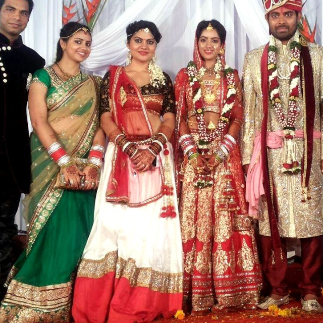 Deepika Singh Hindi TV actress event S1 13 wedding photo