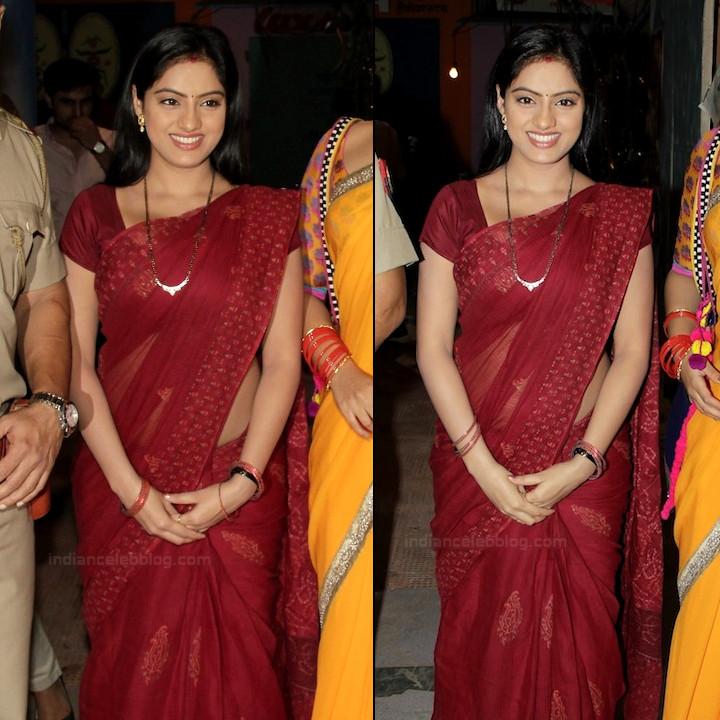 Deepika Singh Hindi TV actress event S1 2 hot saree pics