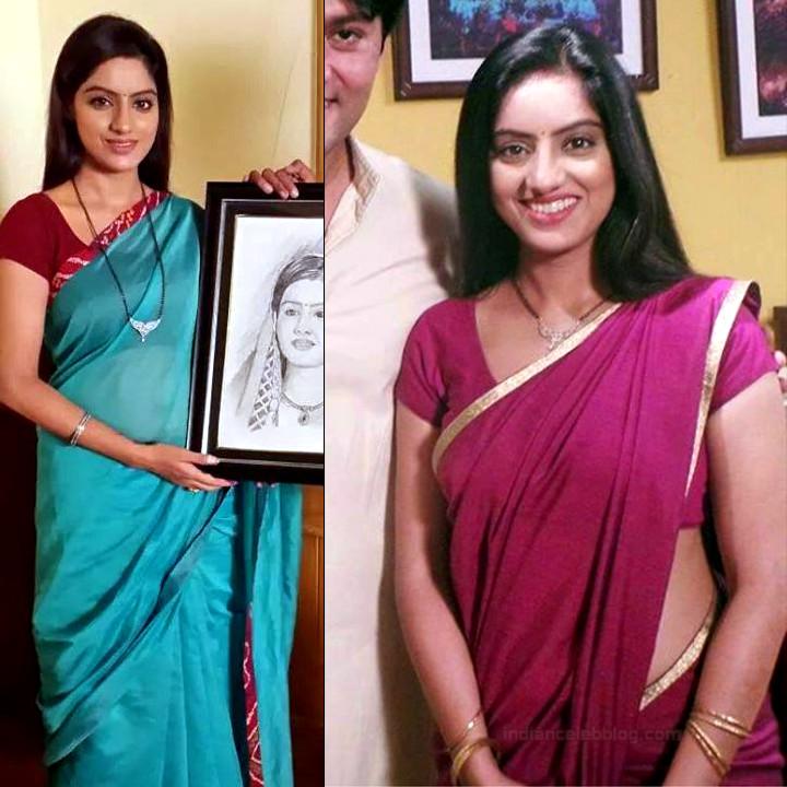 Deepika Singh Hindi TV actress event S1 4 hot saree pics