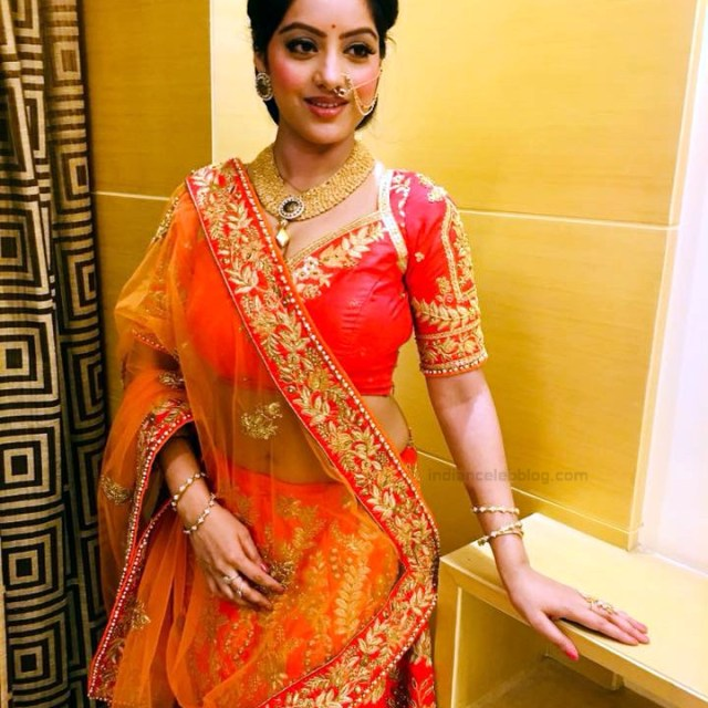 Deepika Singh Hindi TV actress event S1 7 hot lehenga photo