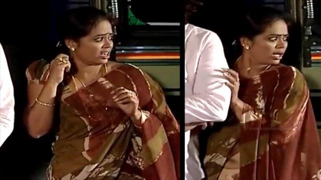 Devipriya tamil tv actress Pondatti TS1 13 hot saree pics