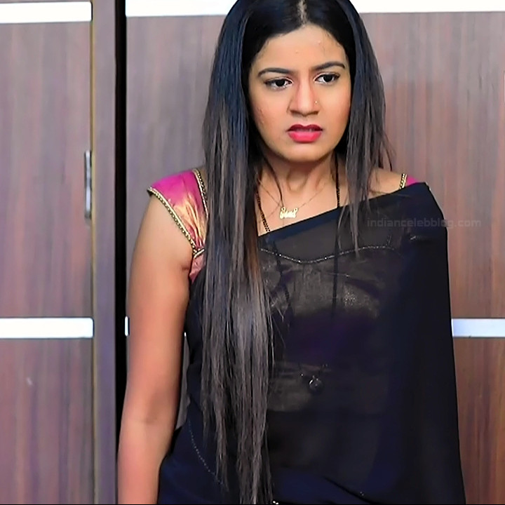 Namratha gowda kannada tv actress Putta GMS1 11 hot sari photo