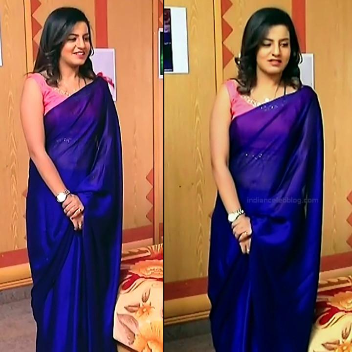 Namratha gowda kannada tv actress Putta GMS1 12 hot sari pics