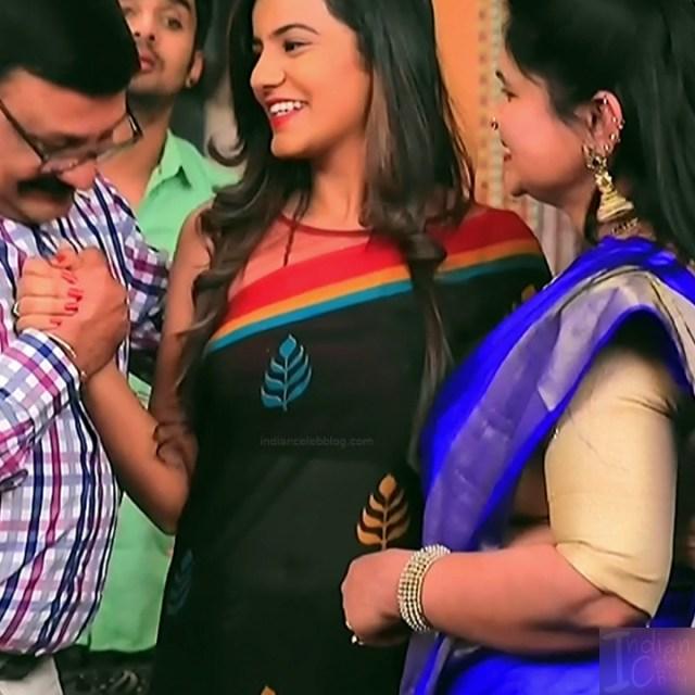 Namratha gowda kannada tv actress Putta GMS1 13 hot sari caps