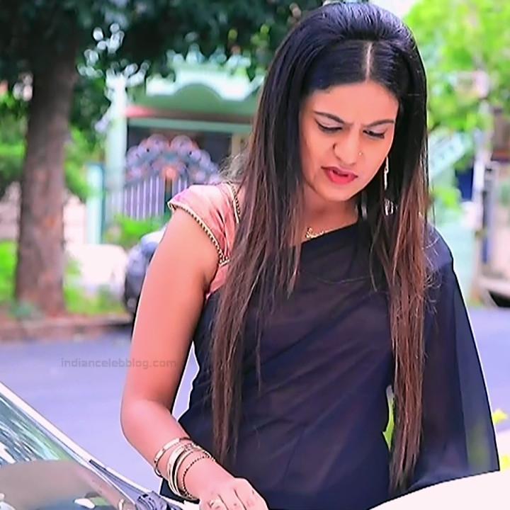 Namratha gowda kannada tv actress Putta GMS1 3 hot saree photo