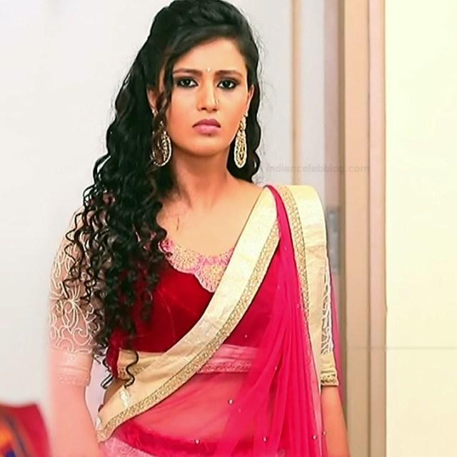 Neha Gowda Kannada tv actress Lakshmi BS1 15 hot lehenga photo