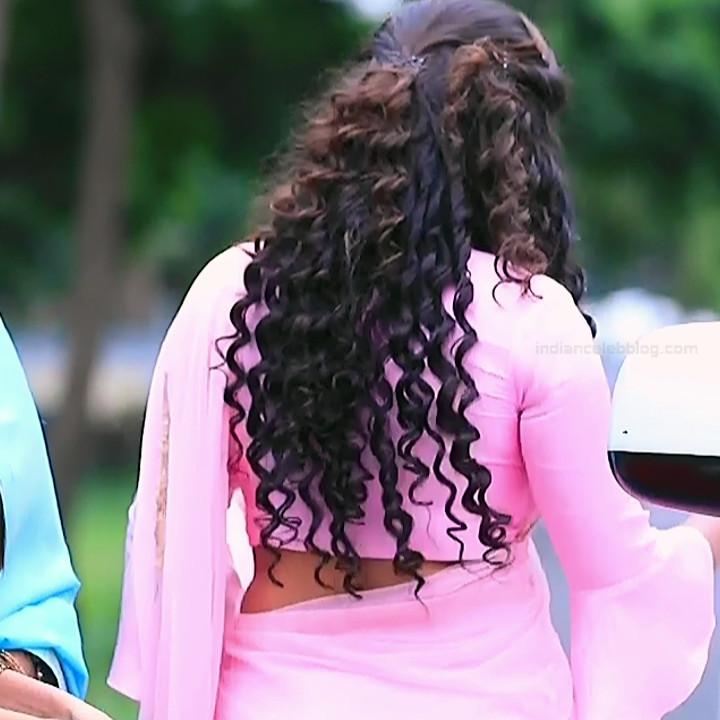 Neha Gowda Kannada tv actress Lakshmi BS1 3 hot saree photo
