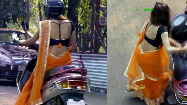 Neha saxena hindi tv actress Siddhi VS1 3 hot saree pics