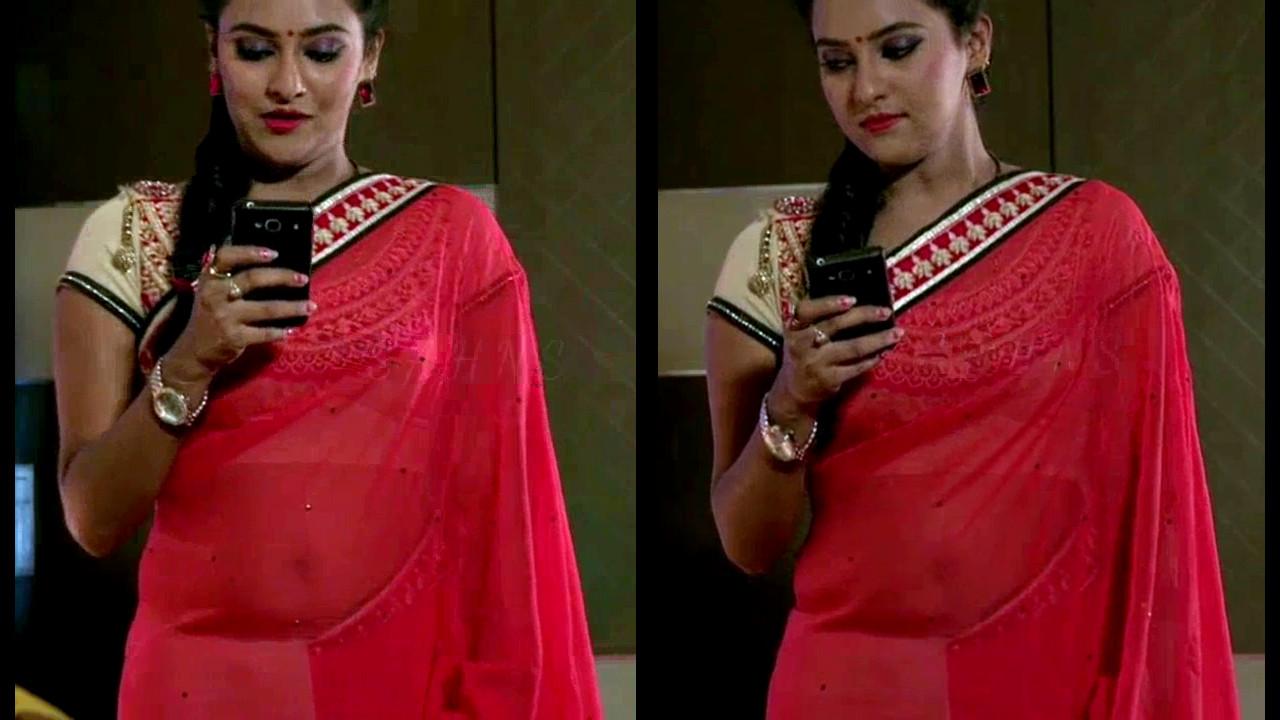 Priyanka Kannada TV actress Agnisakshi S113 hot saree navel pics