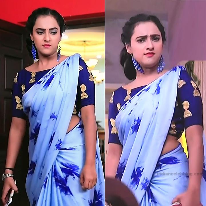 Priyanka Kannada TV actress Agnisakshi S18 hot sari pics