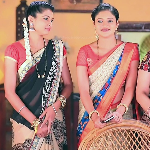 Ranjani raghavan kannada tv actress Putta GMS3 10 hot sari photo