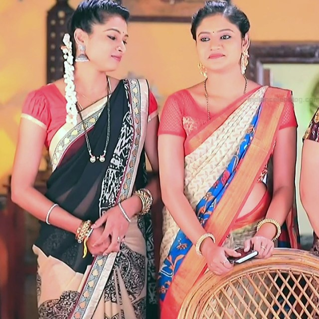 Ranjani raghavan kannada tv actress Putta GMS3 11 hot sari photo