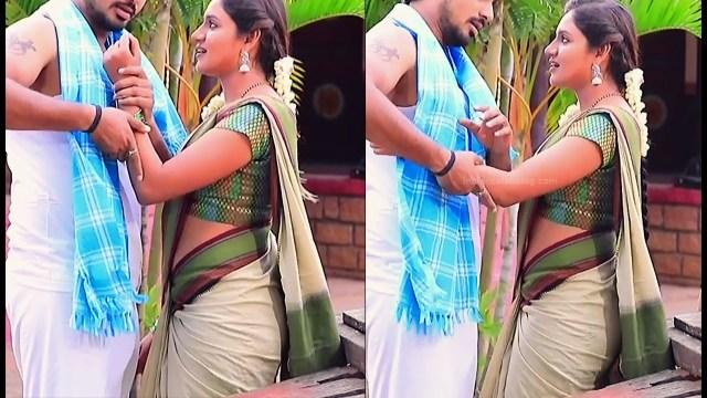 Ranjani raghavan kannada tv actress Putta GMS3 12 hot sari pics