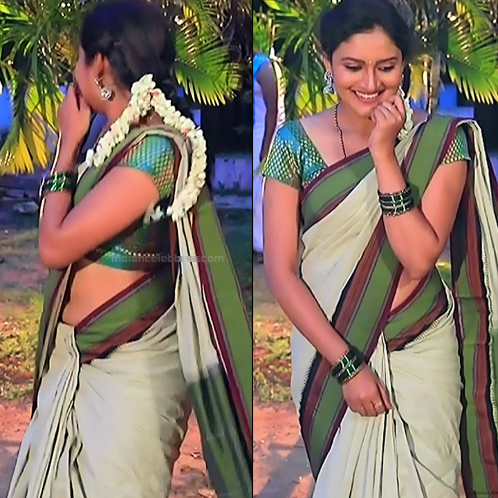 Ranjani raghavan kannada tv actress Putta GMS3 13 hot saree navel pics