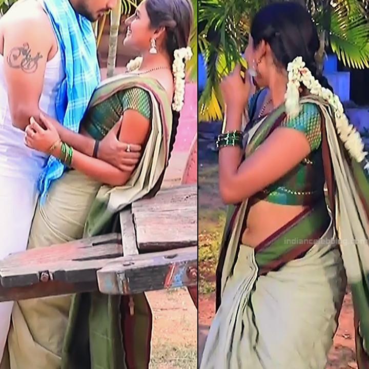 Ranjani raghavan kannada tv actress Putta GMS3 14 hot saree navel pics
