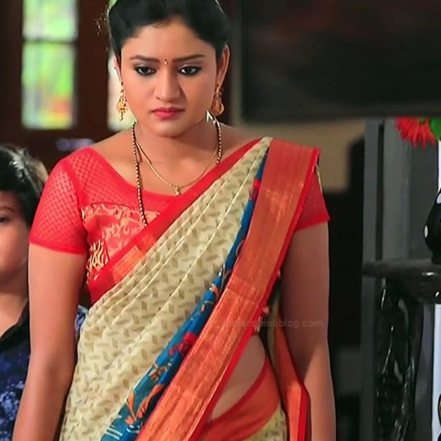 Ranjani raghavan kannada tv actress Putta GMS3 15 hot saree photo