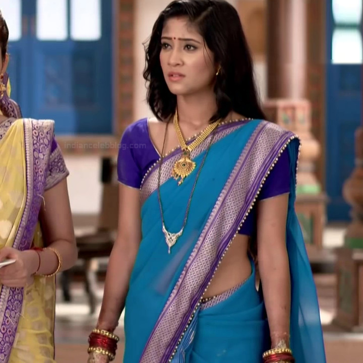 Shivangi Joshi hindi tv actress Begusarai S1 10 hot saree caps