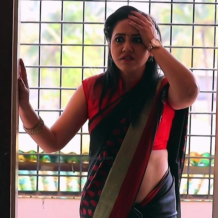 Sindhu Kalyan kannada tv actress PuttaGMS2 12 hot sari photo