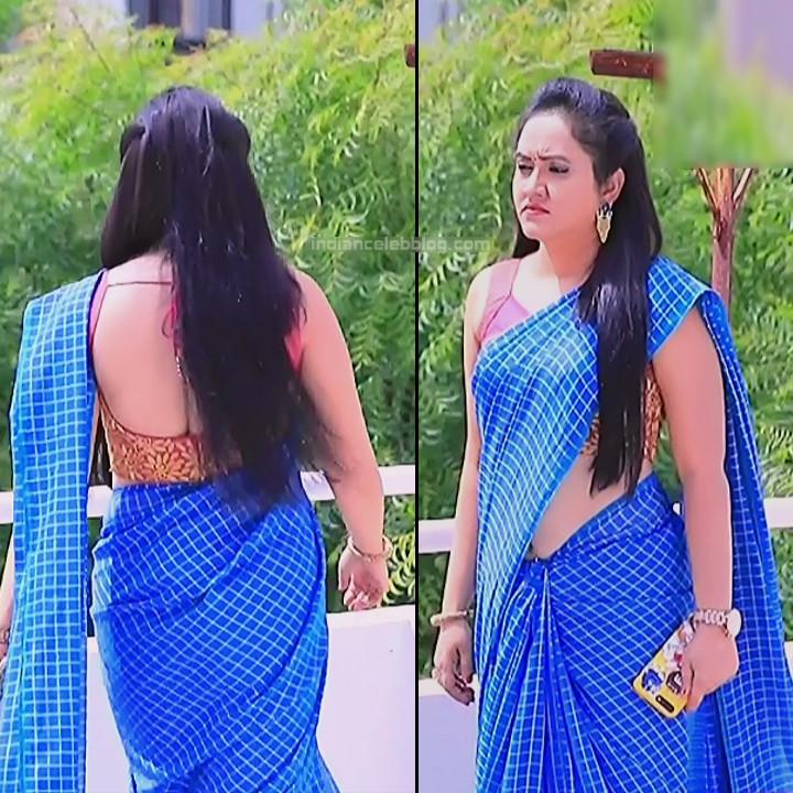 Sindhu Kalyan kannada tv actress PuttaGMS2 2 hot saree pics