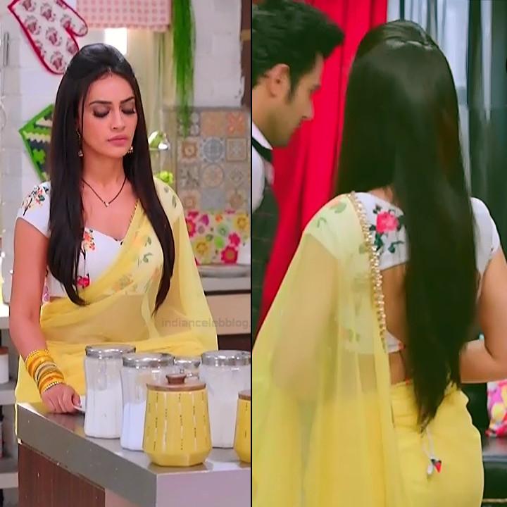 Surbhi jyoti hindi tv actress Naagin S3 5 hot saree pics