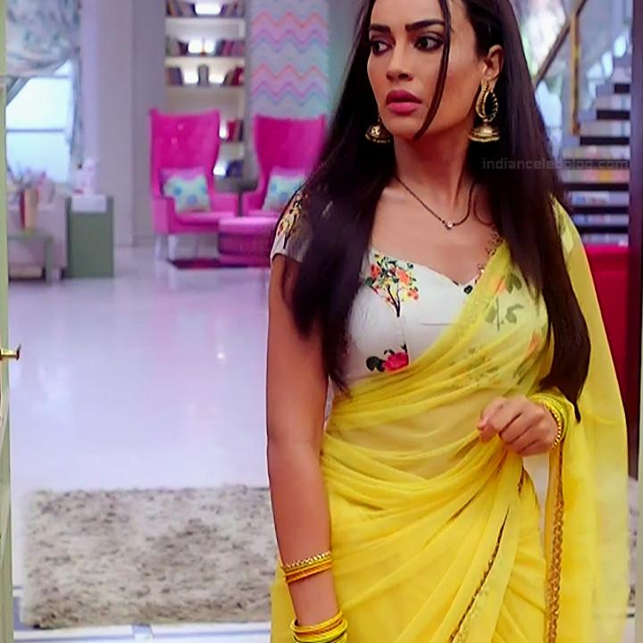 Surbhi jyoti hindi tv actress Naagin S3 9 hot sari photo