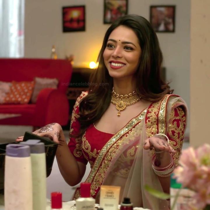 Vaishnavi dhanraj hindi tv actress Yeh VRS1 7 hot saree photo