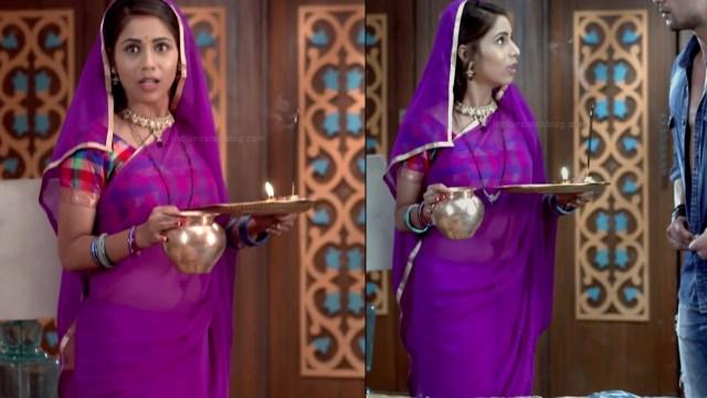 Veebha anand hindi tv actress begusarai S1 10 sari pics