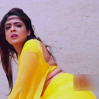 Malavika wales tamil tv actress Nandini S1 7 hot saree caps