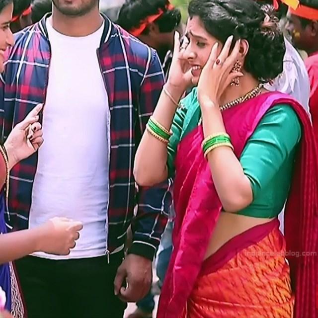 Supritha sathyanarayan kannada tv Seetha VS1 4 hot sari caps