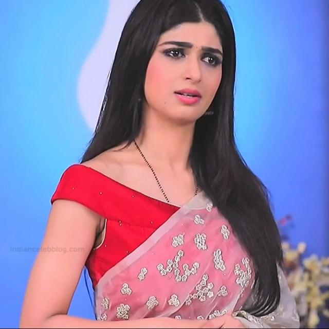 Aditi prabhudeva kannada tv actress Nagakannike S1 1 saree caps